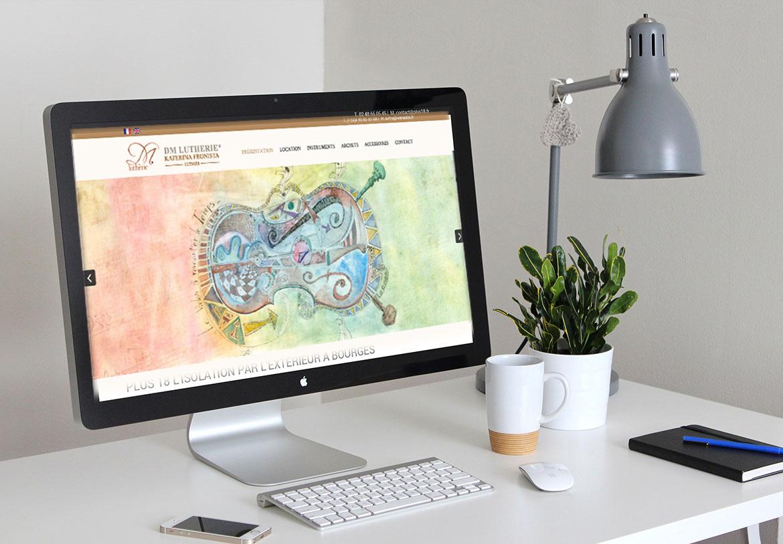Création d'un site à Avignon