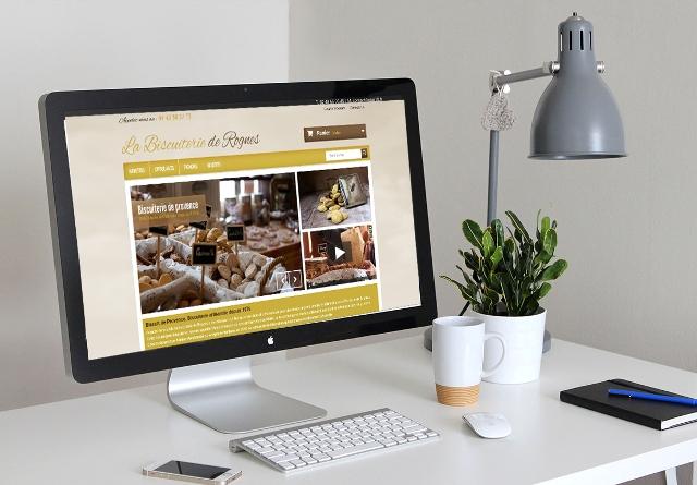 Réalisation site de vente en ligne